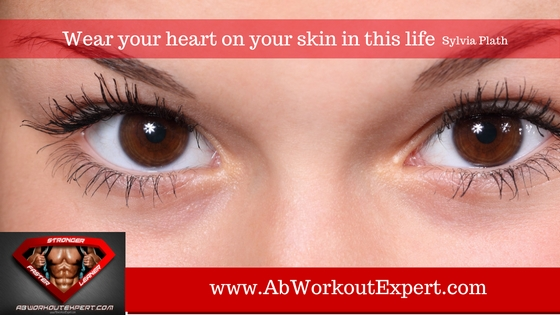 Ladies eyes with great skin tone is one of the health related benefits of physical activity