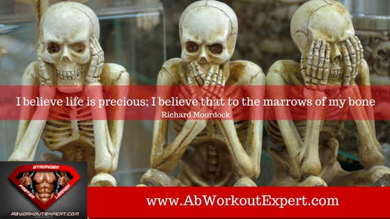Strong bones is a health related benefit of physical activity. Three skeletons, hear no evil, speak no evil, see no evil.